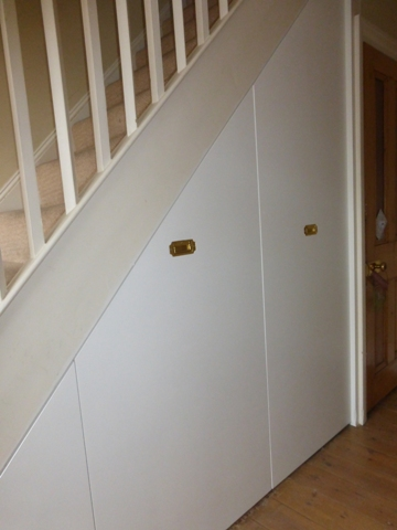 Home Understairs Storage Installations